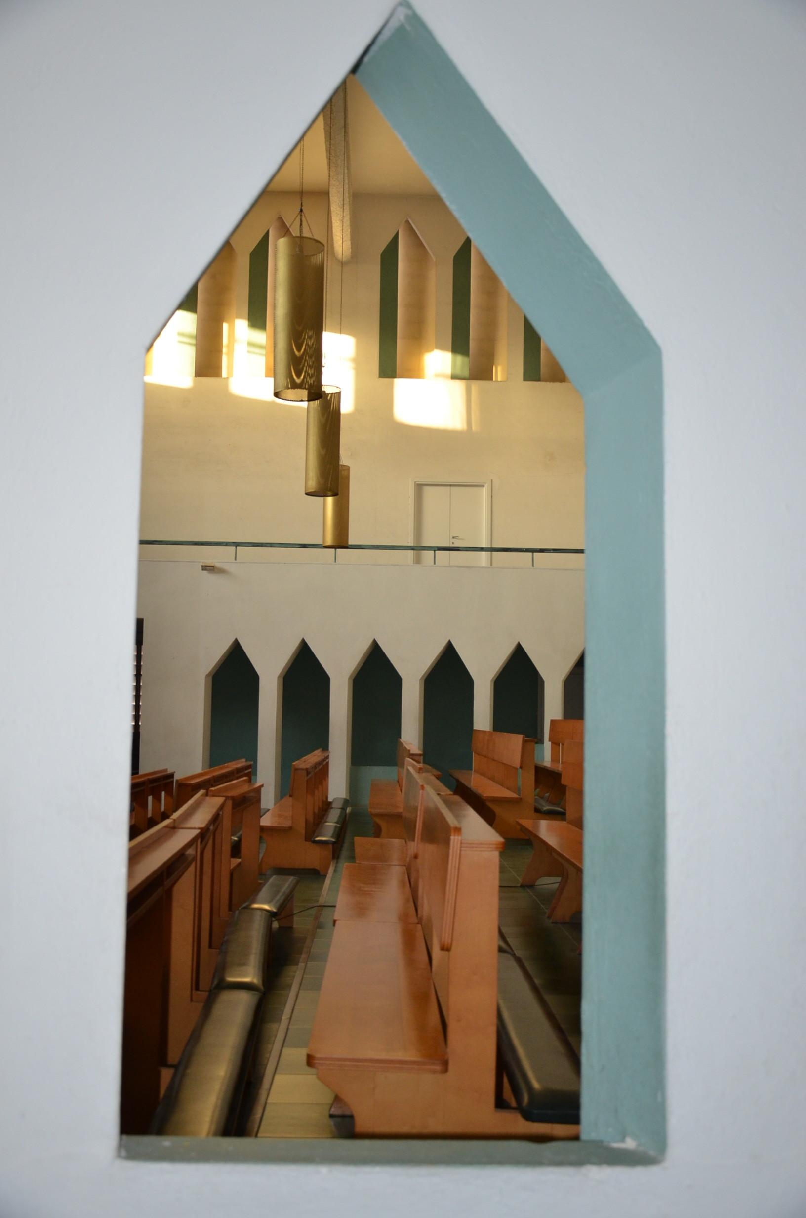 Viste interne della chiesa. (foto C. Giordano)