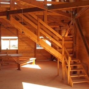 Architettura in legno con funzione antisismica.