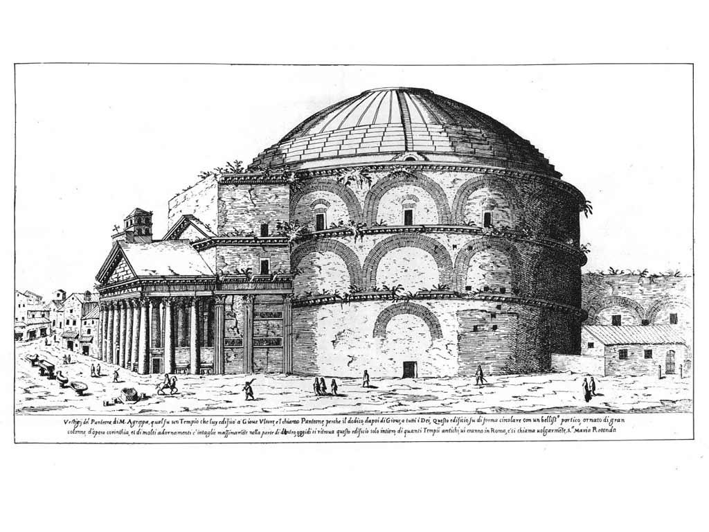 Roma pregare in movimento luoghi di culto interreligiosi for Esterno pantheon
