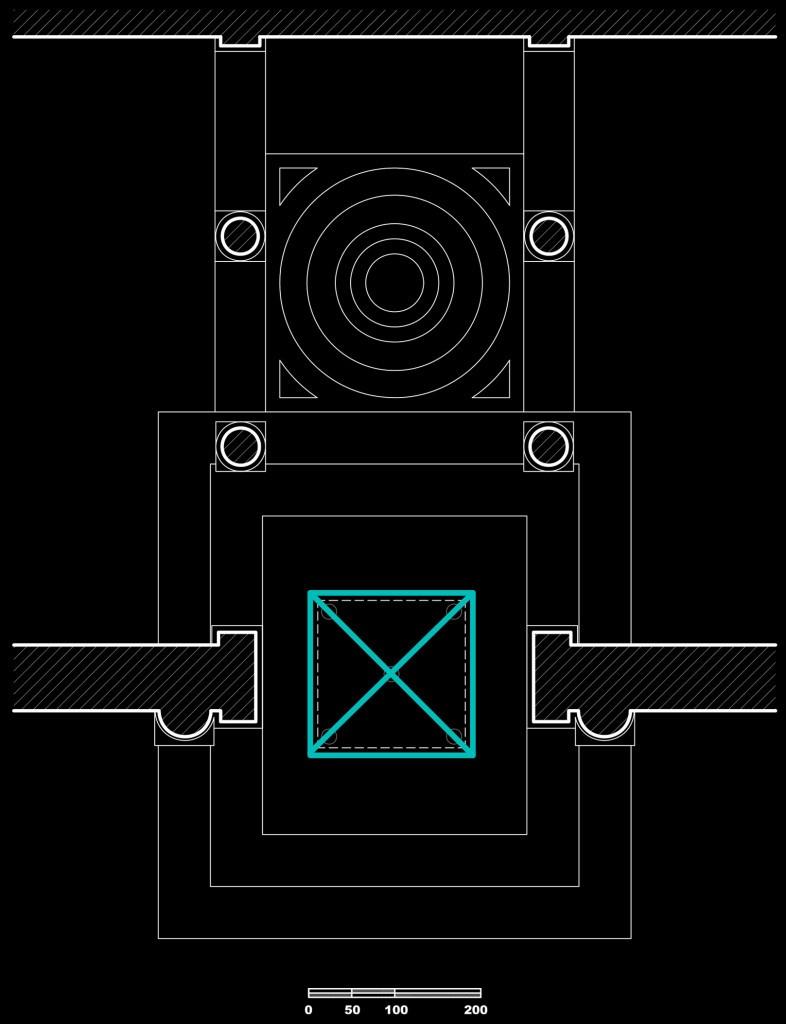 Fig. 8 – Schizzi preliminari del nuovo altare e del nuovo ambone (G. Gualdrini, 2013)