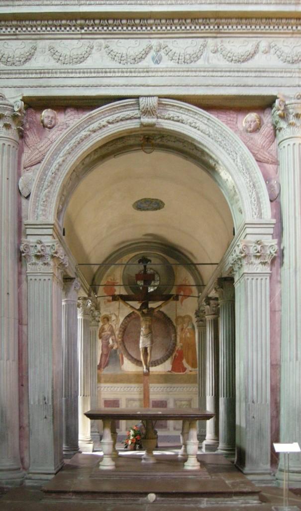Fig. 9 – Il nuovo altare (G. Gualdrini, 2014)Gualdrini, 2013)