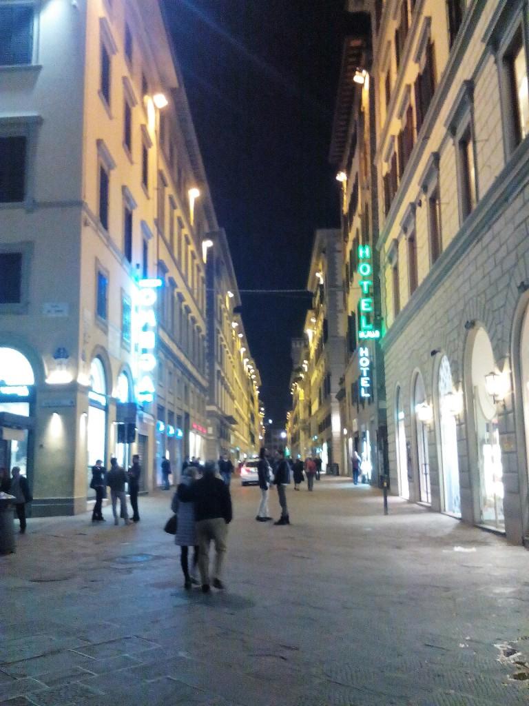 Firenze ha accolto il convegno col lo splendore della sua organizzazione urbana.