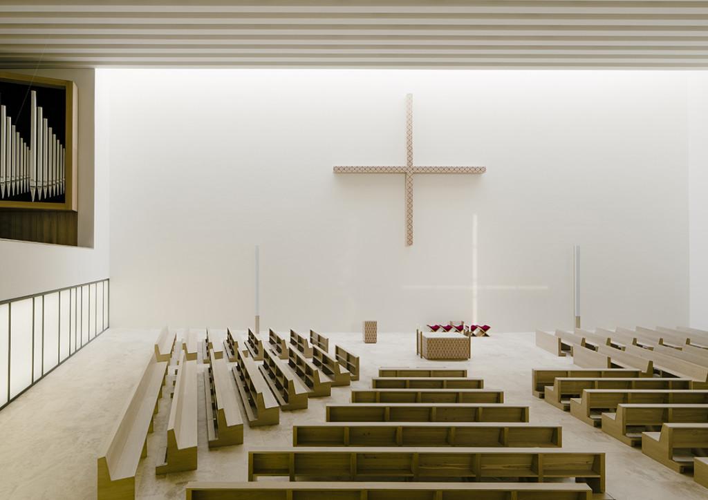 Chiesa St Trinitatis a Lipsia.