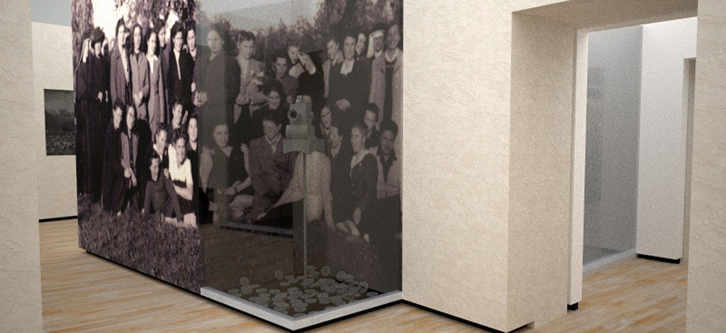 Una sala espositiva.