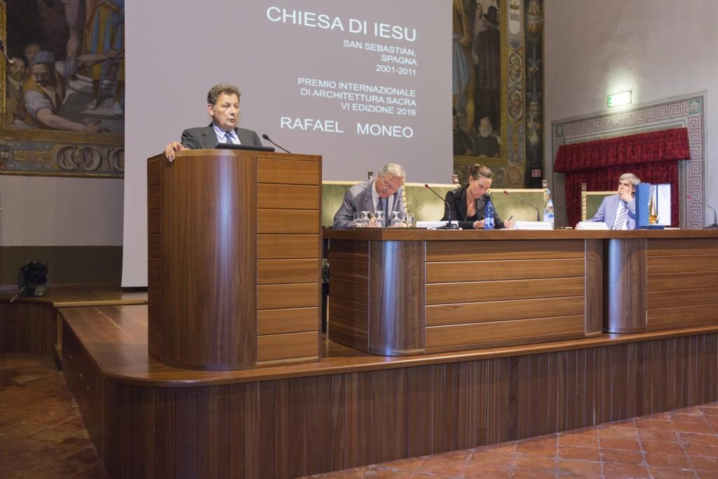 La premiazione di Rafael Moneo è stata introdotta da una lectio magistralis di Francesco Dal Co