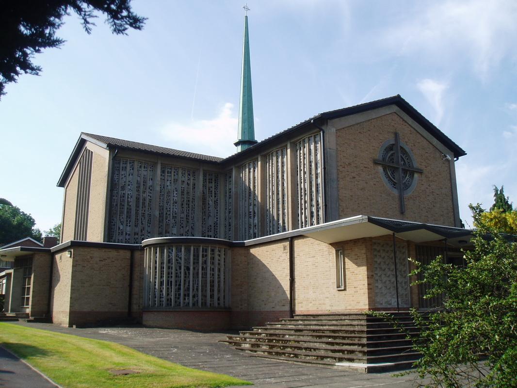 Progettata da Henry Federsky, la chiesa è stata completata nel 1966, nel Warwickshire a Lillington, vicino a Birmingham.