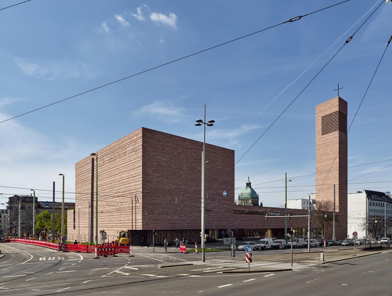 Chiesa SS. Trinità a Lipsia, architetti Schulz + Schulz