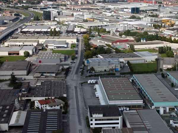"""Una fotografia della zona """"industriale"""" di Vicenza."""