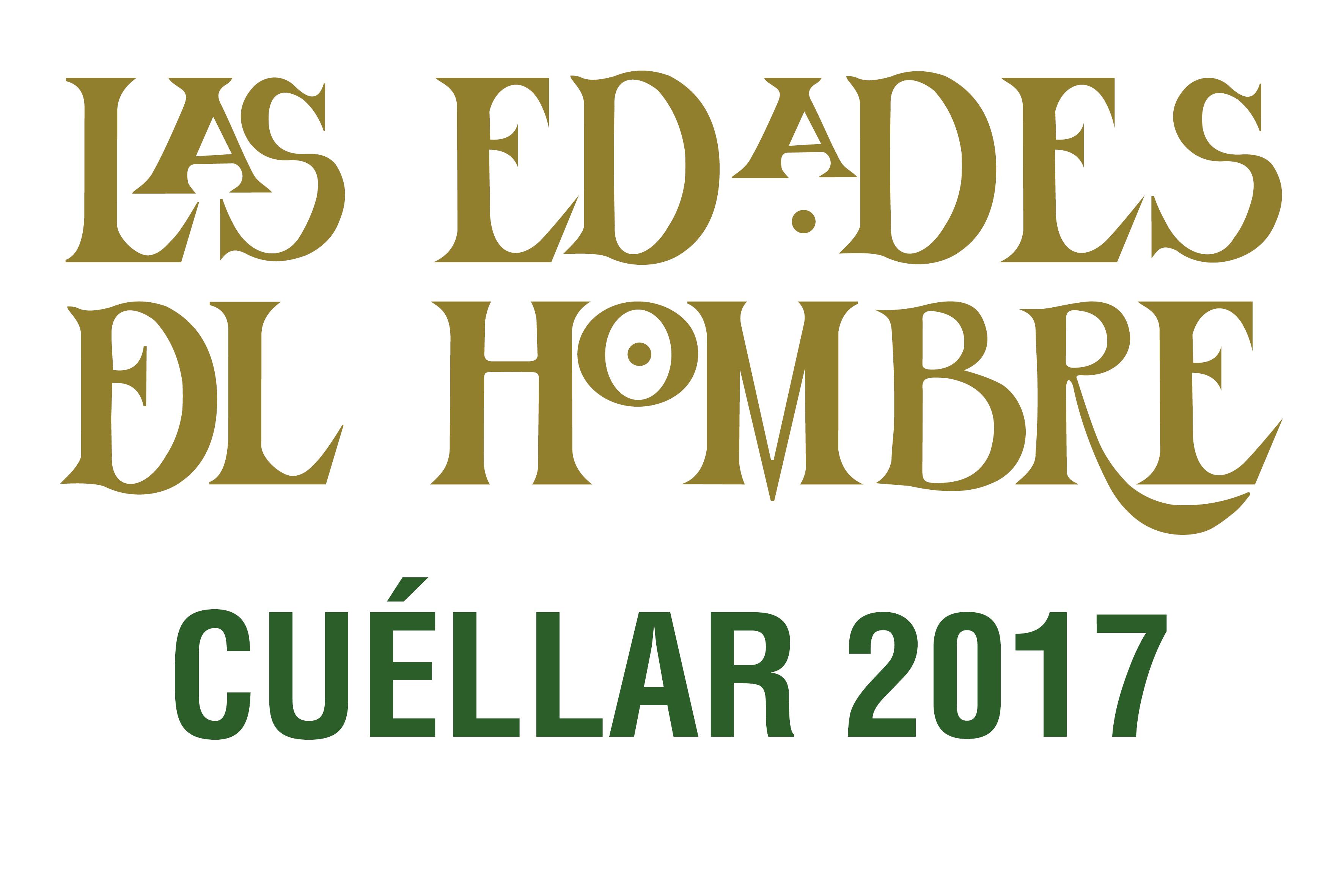 Cuéllar, logo di Las Edades del Hombre, 2017