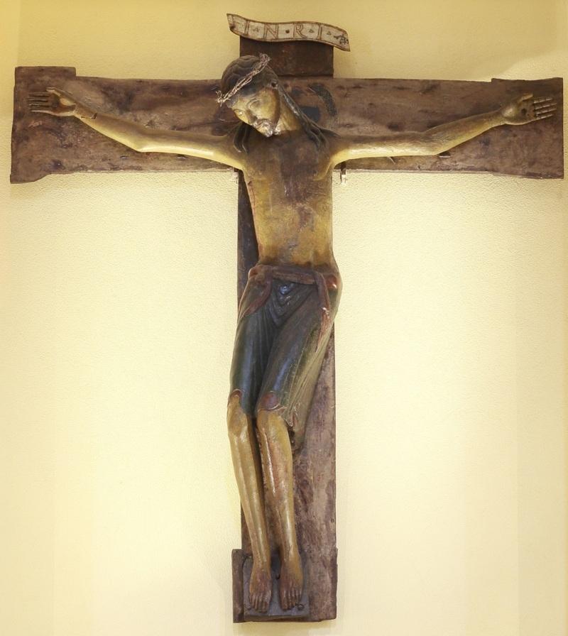 Il crocifisso. Foto Aristide Mazzarella